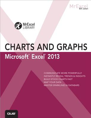 Excel 2013 Charts and Graphs By Jelen, Bill